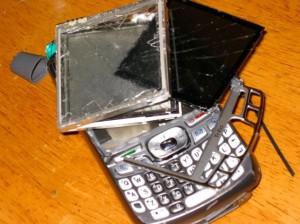 trasig mobil